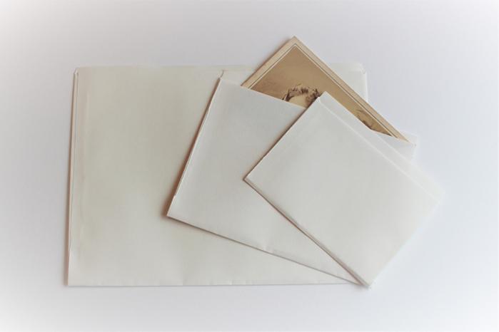 Foto kuverte – arhivske, papirnate, nepuferirane (1)