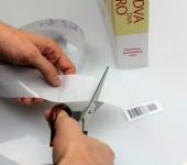 Zaštitna prozirna folija za naljepnice - Book film 1