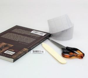 Zaštitna prozirna folija za naljepnice - Book film 2