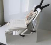 Niskotlačni uređaj za popravljanje nerazvezenih uveza – knjiga