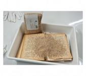 Sredstvo za uklanjanje neugodnih mirisa knjiga, papira ili tkanina