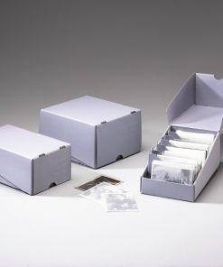 Beskiselinske kutije za pohranu fotografija - Trajne arhivske kutije za velik izbor fotografskih formata, foto album kutije, kutije za dijapozitive, mikrofiš kutije ....
