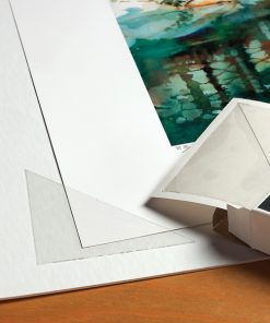 Arhivske trake i uglići za uramljivanje - Prozirni uglići i prozirne trake za postavljanje radova, Foto fix kvadratići, trake od japanskog papira, razne samoljepljive i ljepljive trake,...