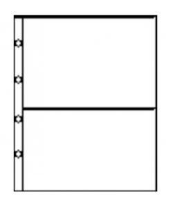 Album stranice poliester Secol - Kristalno prozirne arhivski sigurne album stranice ...